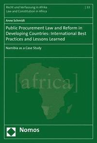 bokomslag Public Procurement Law and Reform in Developing Countries: International Best Practices and Lessons Learned: Namibia as a Case Study