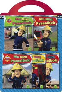 bokomslag Brandman Sam. 5 miniböcker med pyssel