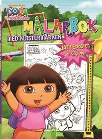 bokomslag Dora utforskaren. Målarbok med klistermärken