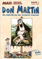bokomslag MADs große Meister: Don Martin 01