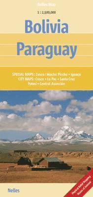 bokomslag Bolivia / Paraguay