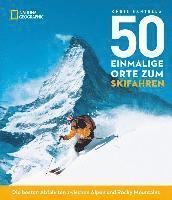 bokomslag 50 einmalige Orte zum Skifahren