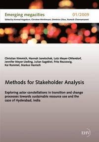 bokomslag Methods for Stakeholder Analysis