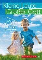 bokomslag Kleine Leute, großer Gott (Liederbuch)