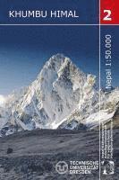 bokomslag Nelles Map Khumbu Himal Trekking-Karte 1 : 50 000