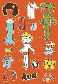 bokomslag Ava: Magnetic Dress-Up Doll