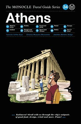 bokomslag Athens: The Monocle Travel Guide Series