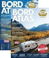 bokomslag Bordatlas Europa 2018: Stellplätze Deutschland & Europa