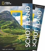 bokomslag NATIONAL GEOGRAPHIC Reiseführer Schottland mit Maxi-Faltkarte