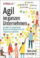 bokomslag Agil im ganzen Unternehmen