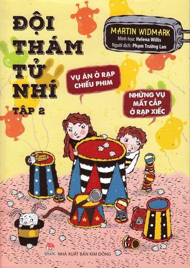 bokomslag Biografmysteriet & Cirkusmysteriet (Vietnamesiska)