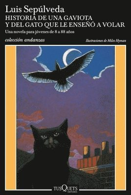 bokomslag Historia de Una Gaviota y del Gato Que Le Enseaa a Volar