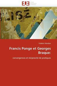 bokomslag Francis Ponge Et Georges Braque
