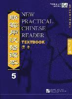 bokomslag New Practical Chinese Reader vol.5 - Textbook