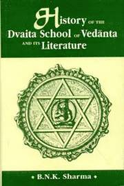 bokomslag History of the Dvaita School of Vedanta and Its Literature