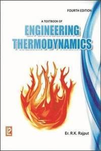 bokomslag A Textbook of Engineering Thermodynamics