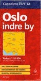 bokomslag Oslo bykart innenfor ring 3 (CK 61)