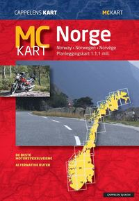 bokomslag MC Kart Norge Cappelen : 1:1milj