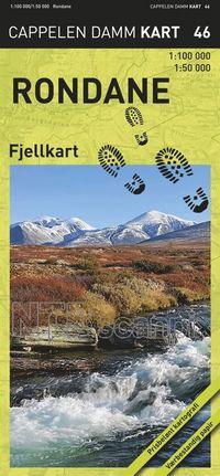 bokomslag Rondane Fjellkart Cappelen CK46 - 1:50000-1:100000