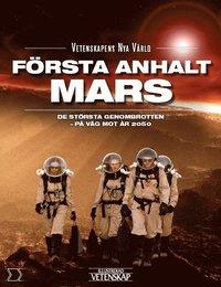 bokomslag Första anhalt Mars