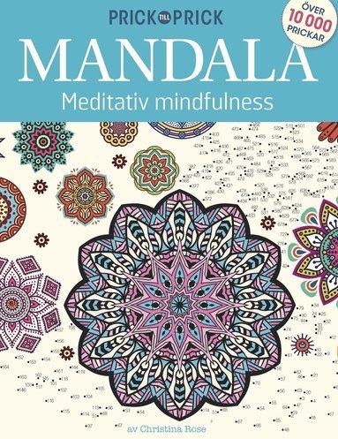 bokomslag Prick till Prick Mandala meditativ mindfulness