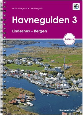 bokomslag Havneguiden 3. Lindesnes - Bergen