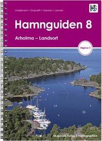 bokomslag Hamnguiden 8. Arholma - Landsort