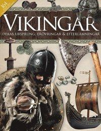 bokomslag Vikingar : deras ursprung, erövringrar & efterlämningar