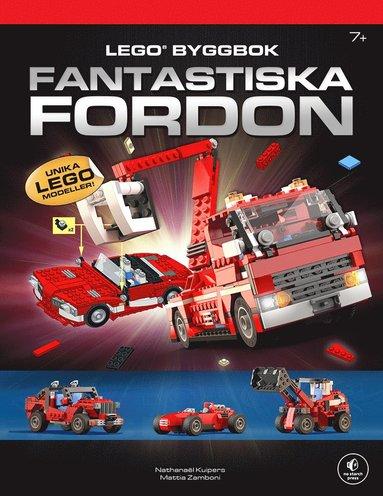 bokomslag Lego byggbok : fantastiska fordon