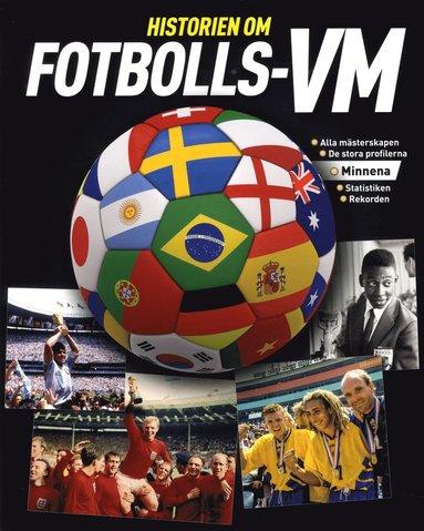 bokomslag Historien om fotbolls-VM