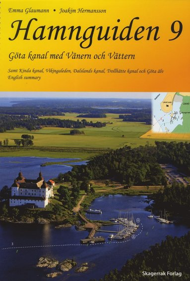 bokomslag Hamnguiden 9 Göta kanal med Vänern och Vättern