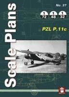 bokomslag Scale plans: pzl p.11c