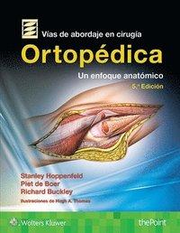 bokomslag Vias de abordaje de cirugia ortopedica.Un enfoque anatomico