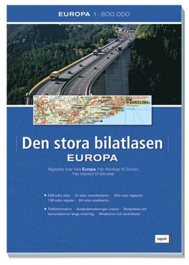 bokomslag Europa : den stora bilatlasen 2010