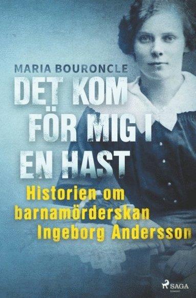 bokomslag Det kom för mig i en hast - Historien om barnamörderskan Ingeborg Andersson