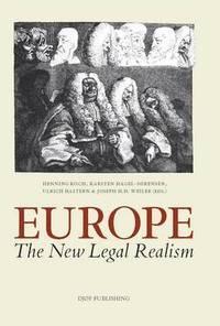 bokomslag Europe. The New Legal Realism