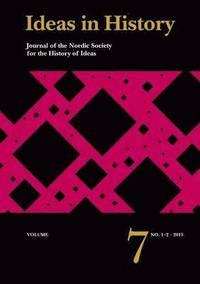 bokomslag Ideas in History, Vol. 7, No. 1-2