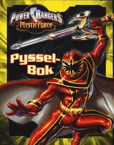 bokomslag Power Rangers-Pysselbok