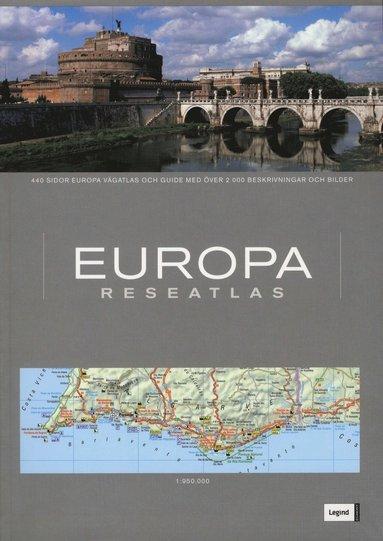 bokomslag Europa Reseatlas
