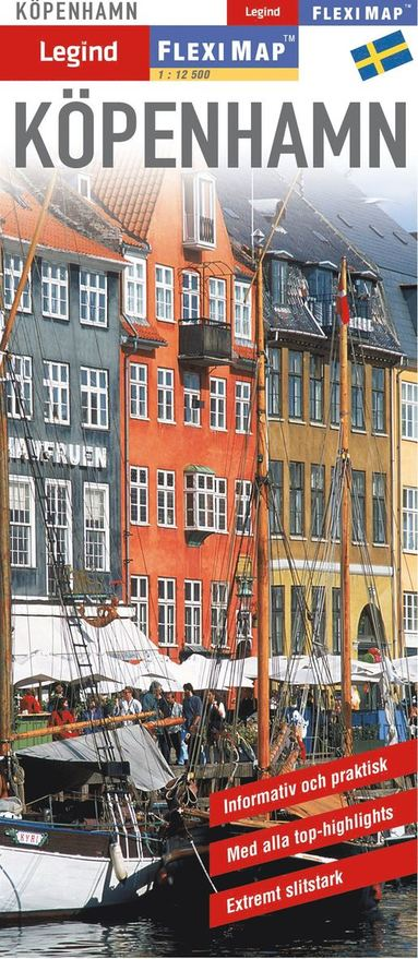 bokomslag Köpenhamn - Fleximap