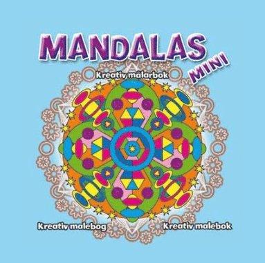 bokomslag Mini Mandalas - Ljusblå