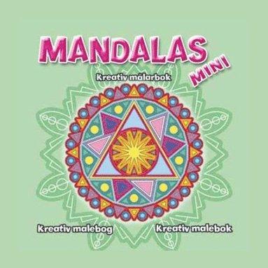 bokomslag Mini Mandalas - Grön