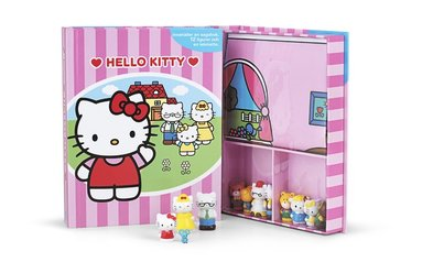 bokomslag Hello Kitty - lekbok (sagobok, figurer, lekmatta)