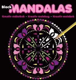 bokomslag Mandalas black