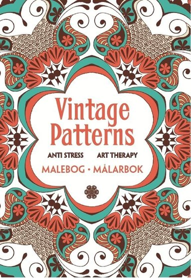 bokomslag Vintage Patterns - Anti stress Art Therapy