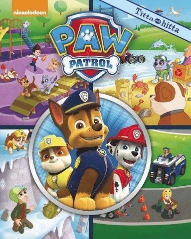 bokomslag Nickelodeon Paw Patrol Titta och hitta