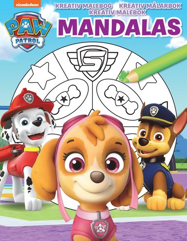 bokomslag Nickelodeon Mandalas Paw Patrol