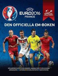 bokomslag UEFA Euro 2016 - den officiella em-boke:
