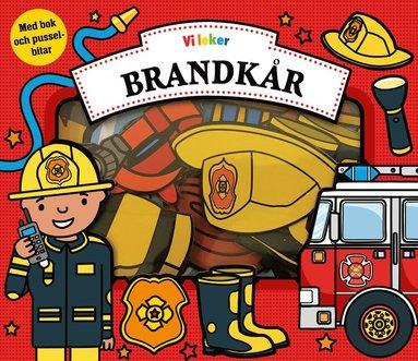 bokomslag Vi leker brandkår - med pusselbitar