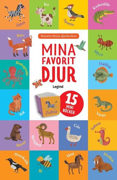 bokomslag Mina favoritdjur - 15 mini böcker